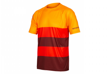 Maglietta Endura Singletrack Core T arancione