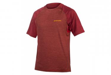 Endura Singletrack T Cocoa camiseta de manga corta