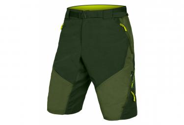 Endura Hummvee II Shorts Olive Green