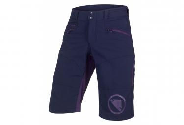 Short Endura SingleTrack II Bleu/Violet