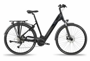 Bicicleta eléctrica urbana BH Atoms City Wave Pro Shimano Alivio 9S 720 Wh 700 mm Negro 2021