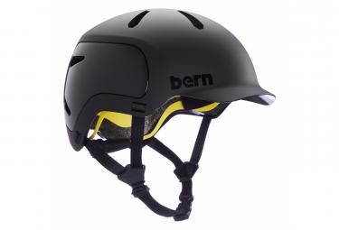 Casco Bern Watts 2 0 Negro Mate S  52 55 Cm