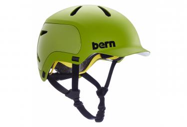 Casco Bern Watts 2 0 Verde Mate L  59 62 Cm