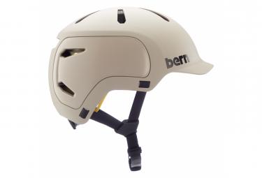 Casco Bern Watts 2 0 Beige Mate L  59 62 Cm