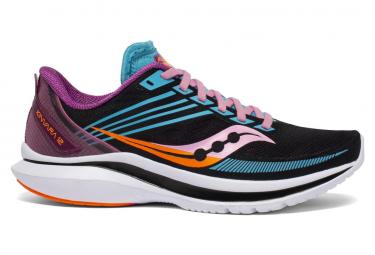 Saucony Kinvara 12 Future Negro Multi Color Mujer Zapatos Para Correr 38