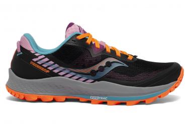 Chaussures de Trail Femme Saucony Peregrine 11 Black Future Noir / Multi-couleur