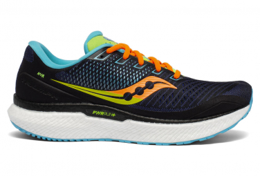 Chaussures de Running Saucony Triumph 18 Black Future Noir / Multi-couleur