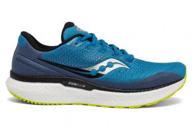 Saucony Triumph 18 Azul Amarillo Hombres Zapatos 47