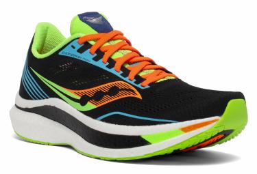 Chaussures de Running Saucony Endorphin Pro Black Future Noir / Vert