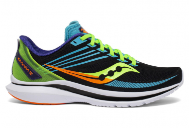 Chaussures de Running Saucony Kinvara 12 Black Future Noir / Multi-couleur