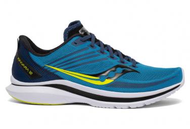 Chaussures de Running Femme Saucony Kinvara 12 Bleu / Jaune