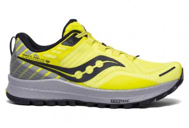 Chaussures de Trail Saucony Xodus 11 Jaune / Gris