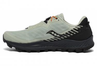 Chaussures de Trail Saucony Peregrine 11 ST Blanc / Noir