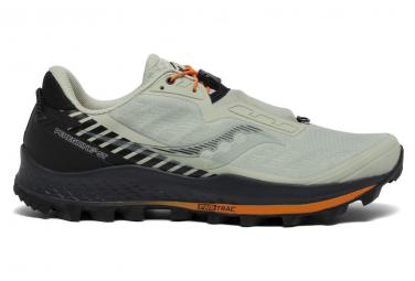 Saucony Peregrine 11 St Trail Zapatos Blanco Negro Hombres 46 1 2