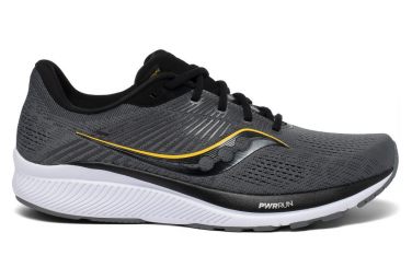 Saucony Guide 14 Negro Blanco Hombre Zapatos Para Correr 40