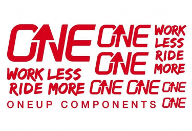 Oneup Stickers Kit Red