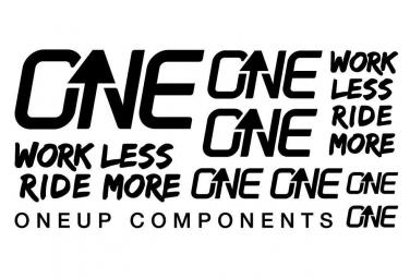 Oneup Stickers Kit Black
