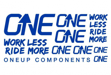 Oneup Stickers Kit Blue