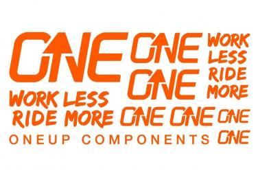 Kit Stickers Oneup Orange