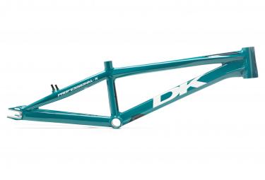 Image of Cadre bmx race dk bicycles professional x bleu pro xl