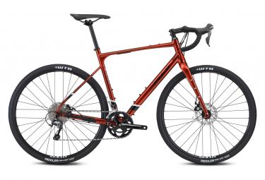 Bicicleta gravel fuji jari 2 1 shimano tiagra 10s 700 mm cobre 2021 57 5 cm   180 188 cm