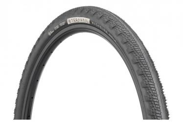 Neumático de grava Teravail Washburn 650b Tubeless Ready, plegable, Durable Bead-to-Bead