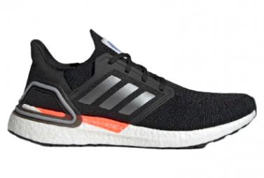Zapatillas Adidas Ultraboost 20 Space Race Negras Blancas Hombre 41 1 3