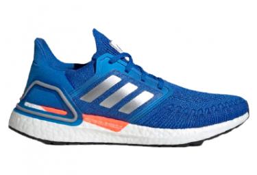 Adidas Ultraboost 20 Space Race Azul Blanco Hombre Zapatos Para Correr 42