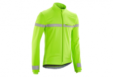 Triban RC100 Winter Jacket Fluo Yellow