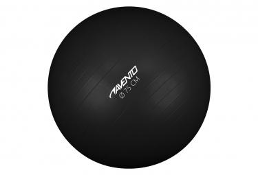 Image of Avento ballon de fitness d exercice diametre 75 cm noir