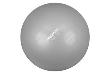 Image of Avento ballon de fitness d exercice diametre 55 cm argente