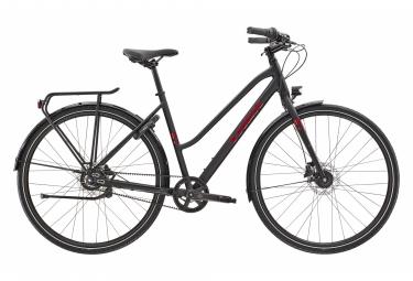 Bici da città Trek District 3 Equipped Stagger Shimano Nexus 8V Matte Trek Black 2021