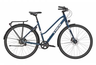 Bici da città Trek District 3 Equipped Stagger Shimano Nexus 8V Dark Aquatic 2021