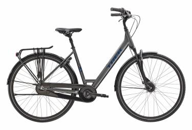 Bicicletta da città attrezzata Trek District 2 Lowstep Shimano Nexus 7V Lithium Grey 2021