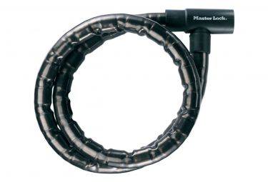 Image of Master lock cable antivol a cle acier 1 2 m x 22 mm 8115eurdps