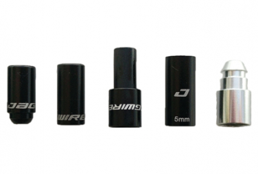 Image of Embouts jagwire workshop mountain elite link brake end cap pack 12pcs black