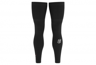 Compressport Full Legs Compression Sleeve Negro Unisex T4