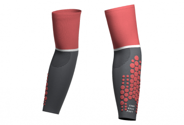 Manchettes Compressport ArmForce Ultralight Corail / Gris Unisex