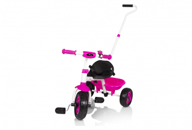 Billy Tricycle d'enfant Berry Rose et blanc