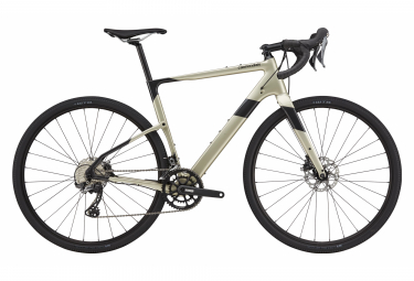 Gravel Bike Cannondale Topstone Carbon 4 Shimano GRX 11V 700 mm Champagne 2021