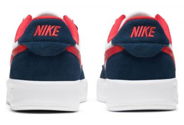 Chaussure Nike SB Adversary Premium Blanc / Bleu