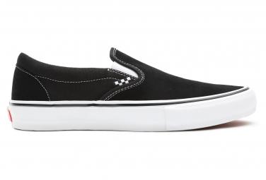 Vans Slip-On Black / White Skate Shoes