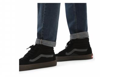Chaussures BMX Vans SK8-Hi Noir/Dark Gum