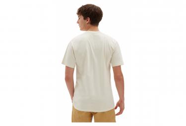 T-shirt Vans Left Chest Logo Speed Pearl/Noir