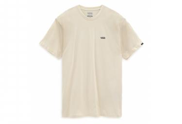 Vans Left Chest Logo Speed Camiseta Perla   Negra M