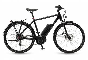 Vélo de Ville Électrique Winora Sinus Tria 7 Eco Shimano Altus 7V 400 Wh 700 mm Noir 2021