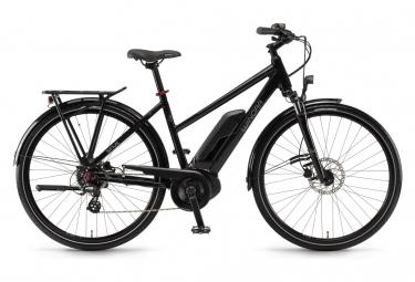 Vélo de Ville Électrique Femme Winora Sinus Tria 7 Eco Shimano Altus 7V 400 Wh 700 mm Noir 2021