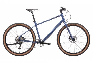 Vélo de Ville Fitness Kona Dew Plus Shimano Deore 10V Bleu 2021