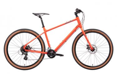 Bicicleta urbana kona dew shimano altus 8s 650mm naranja 2021 m   168 178 cm