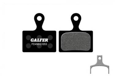 Coppia di pastiglie freno Galfer Semi-metalliche Shimano Ultegra / XTR BR-M9100 / 105 / Tiagra // GRX / Metrea Standard
